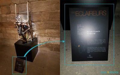 Signalétique et lisibilité : «Les Éclaireurs» à Avignon, une exposition éclairée?