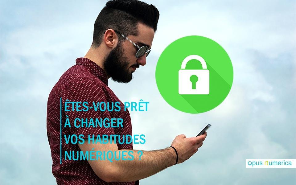 Êtes-vous prêt à changer vos habitudes numériques ?