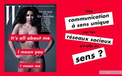 Une communication à sens unique sur les réseaux sociaux a-t-elle un sens?