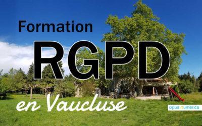 Formation RGPD en Vaucluse – Pour un territoire numérique éthique