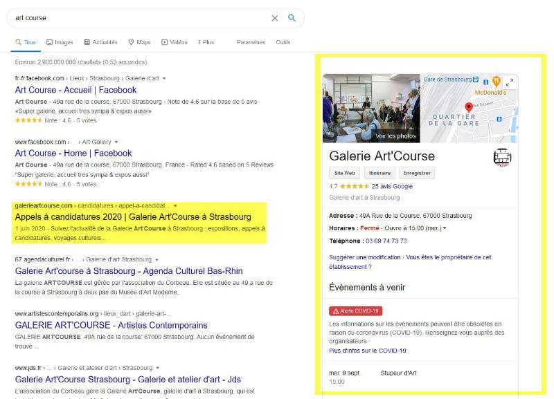 """Résultats de recherche Google pour """"art course"""""""