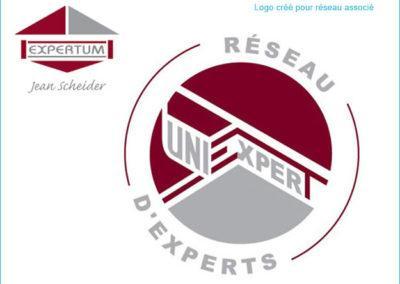 Création de logo pour un réseau d'experts du bâtiment