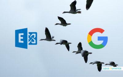 De Google à Outlook et Exchange : la cruelle et douloureuse histoire d'une migration de messagerie