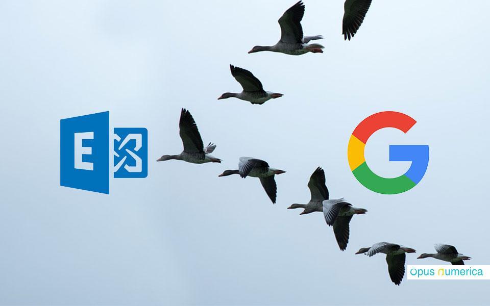 De Google à Outlook et Exchange : la cruelle et douloureuse histoire de la migration de ma messagerie