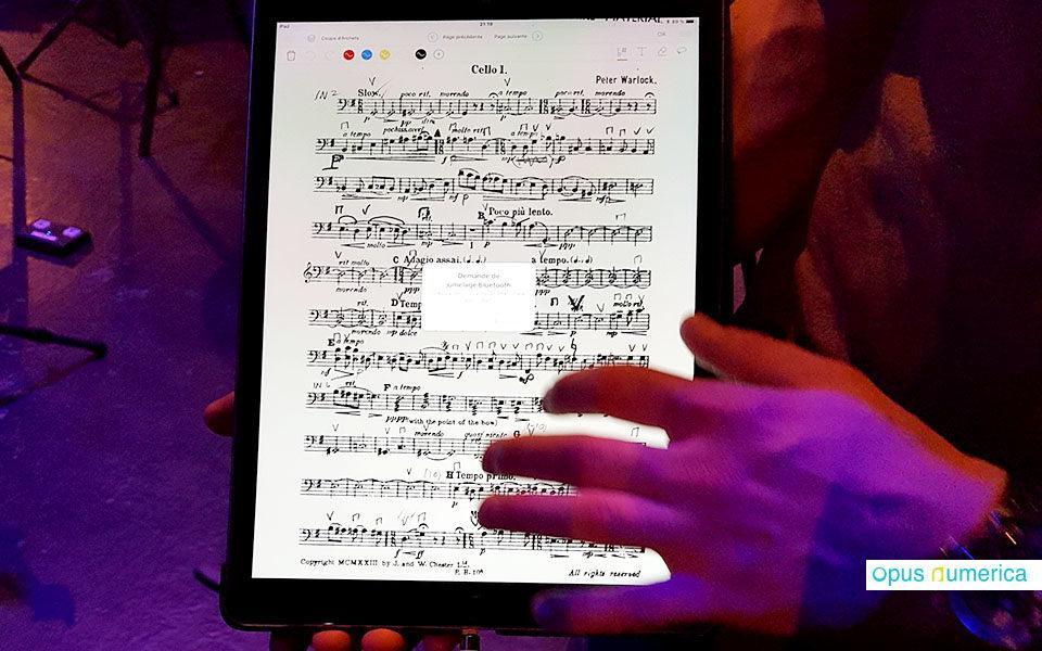 Le numérique dans les structures culturelles : l'Orchestre Régional Avignon Provence adopte les partitions numériques