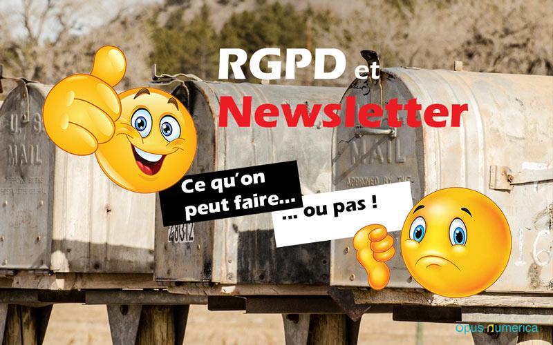 Comment faire pour que votre Newsletter respecte le RGPD ?