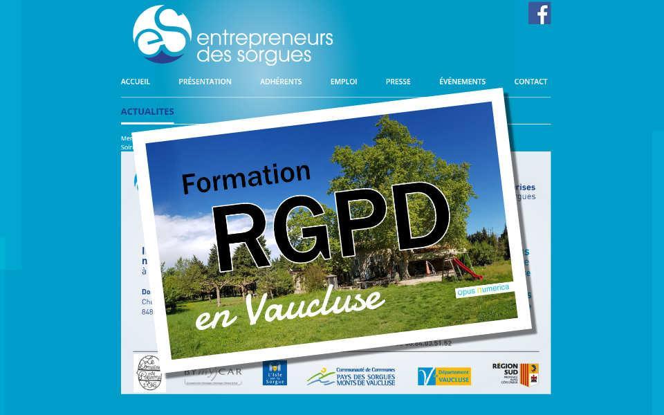 RGPD Vaucluse