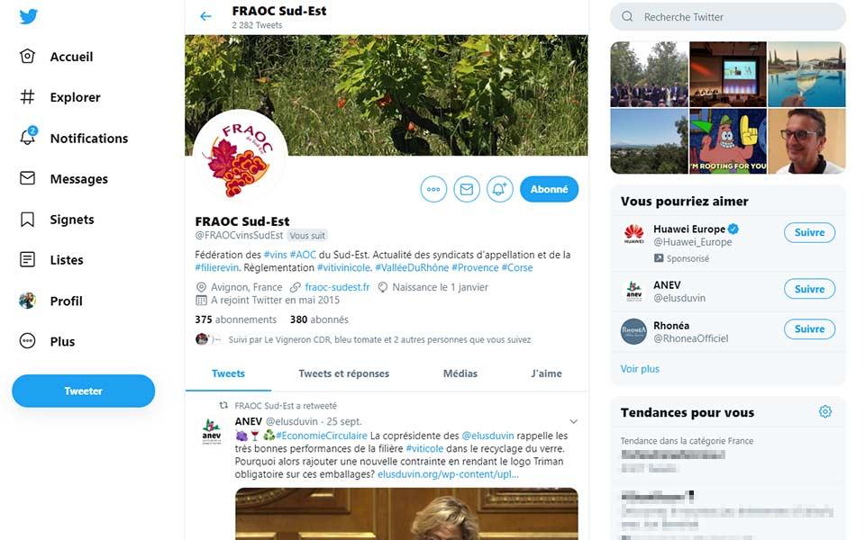 Stratégie de publication et de veille sur Twitter pour les métiers du vin